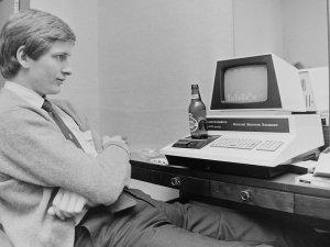 En av de tidlige datamaskinene.
