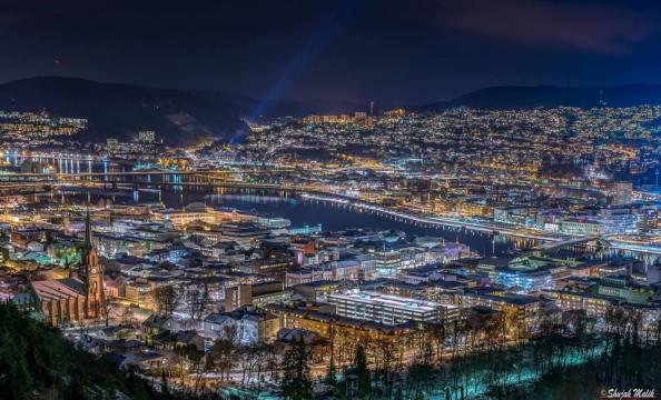 Drammen en by som fortsatt er i positiv endring