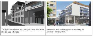 I Engene mener mange har kvartalet ved siden av rådhuset bør sees på helhetig. Noen mener at fasaden på ett bygg bør beholdes.