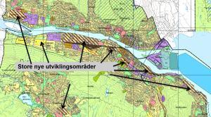 Byutviklingen vil løfte Drammen videre.