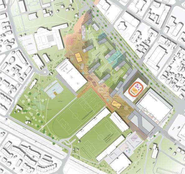 Marienlyst vil bli et mer attraktivt område etter utviklingen. Et fortsatt grønt område som vi i enda større grad vil ønske å ta i bruk